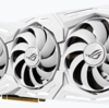 【Tiに続く!白い2080】ASUS社「ROG Strix RTX 2080 SUPER White Edition」が登場!