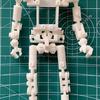 ロボットの骨格をつくる 2020年3Dモデリング初め