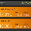 60km+α 転んだりもしたけどアタシは元気です2  ウルトラおろちまで[あと35日]
