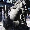 <新春だから神社巡り3>原点でもある白山比咩神社の狛犬は格闘家のようだった