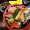 神田【は満寿司】ちらし ¥800+大盛 ¥100