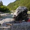 GW2 御岳で岩研活動