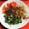 野菜たっぷり汁なし担々麺