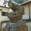 加賀逆立ち狛犬巡り・金沢「鹿島神社」