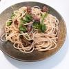 【 ご飯ログ 】 ホタルイカと菜の花のペペロンチーノ 〜アヒージョの後に 【 レシピ 】