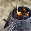 百均の火吹き棒を試してみた。