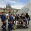 ルーブル美術館です。