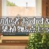【インテリア】初心者おすすめ!お試し観葉植物5点セット!Amazonでランダムで届く!