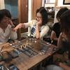 秋の始まり、東京ひかりゲストハウスでボードゲーム!
