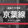 【メルヘン☆夢の国】JR京葉線の時刻表考察《2017.3.4ダイヤ改正》