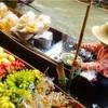 バンコク★異文化!水上マーケット & 頑張り屋さんな日本人男性