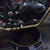 #バイク屋の日常 #カワサキ #250TR #オイル交換 #オーバーフロー