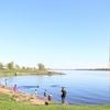 【観光】リガのおすすめ散歩道:晴天のダウガヴァ河沿い