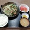 西川口の「あおき食堂」で鶏レバーとにら炒め定食を食べました★