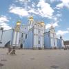 ウクライナ旅行[06](2018年6月)  キエフの観光スポット  聖ミハイル黄金ドーム修道院