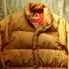 私の古着から80年代茶タグ『ザ・ノースフェイス』のダウンジャケットをご紹介。見た目やタグ・年代・着こなしなどを書きました
