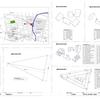 卒業設計の課題発表。(案内図・設計概要・求積図、仕上表、配置図)