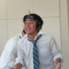 私が「はくにん」と「こくにん」の争いの発端です。古崎彩夏さん劇団鋼鉄村松「オセロ王」(2017.2.1~2.5)稽古場インタビュー