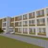 【Minecraft】学校①【建築紹介】