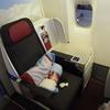 オーストリア航空 Business Class B777-200ER OS076 PVG-VIE