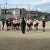 6年生:徒競走の練習 来週はスポーツ大会