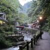 早朝の箕面の滝へ(大阪)…過去20121018