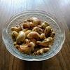 カシューナッツのクミン炒め