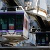 6/30撮影:湘南モノレール(富士見町での列車交換)