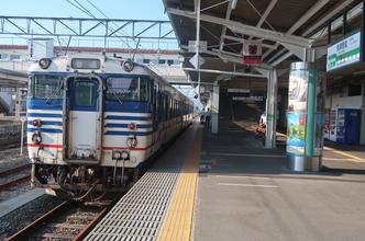 会津鉄道「リレー117号」とJR磐越西線の普通列車で咲花温泉へ。(会津・新潟・庄内旅行2)