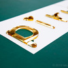 ゴールドのアクリル切り文字ならJEWEL SIGNで決まり!