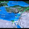 エジプト航空 直行便 MS965 ビジネスクラス で 成田空港からカイロ空港へ、3回の食事、アルコール無し、スリッパ無し...靴下?