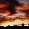 台風の夜と翌朝・voigtlander vsl 3-E w/natura 1600