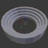 【Blender】【モデリングドリル】円形の階段を作る