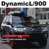 ルーフボックス取り付け | THULE Dynamic x トヨタ ランクル200