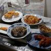 幸運な病のレシピ( 1656 )夜 :鳥カツ、コウイカ(焼き・煮漬け)手羽二度揚げ(ケチャップ味)、汁