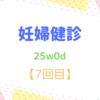 25w0d 妊婦健診【7回目】 中期スクリーニング検査