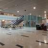 ヤンゴン国際空港新ターミナル 免税店街(その1、紀伊国屋通り)