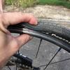BMX タイヤのチューブ交換