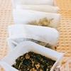 ヨモギ茶を手作り♡