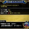 level.1057【ドラゴン系15%UP】第146回闘技場ランキングバトル初日