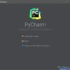 PyCharmでAnaconda(Python)とDjangoの開発環境を構築する  その1