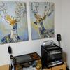 IKEAの鹿の絵を賃貸でも飾る【プィエッテリード】