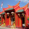 【中国寺院】インドネシア/バリ島クタセラタン・ブノア半島