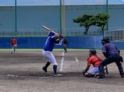 「琉球ブルーオーシャンズ」久しぶりの有観客試合! VS SNアーマンズBC