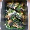 鯖のカレー風味