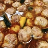 豚団子と南瓜のおろし煮