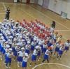 運動会の練習(1年)