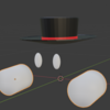 Blender操作メモ8(手を作る1・今までの操作応用)_φ(・_・【1065日目】