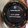 【PRO TREK Smart】Wear OS 2.0へアップデートが来た!4方向スワイプを実現 #アウトドアアンバサダー #プロトレックスマート