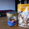 おやつ作り(アカシアの蜂蜜とナッツ)